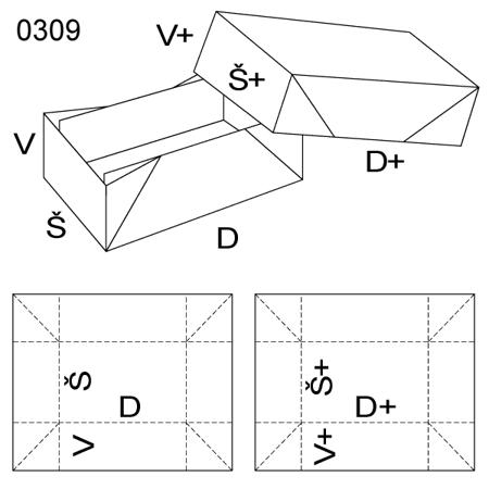 Obrázek z Krabice s víkem 0309