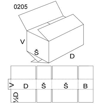 Obrázek Klopová krabice 0205