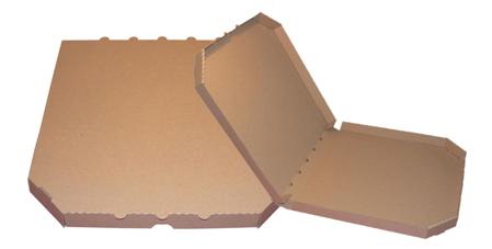 Obrázek z Pizza krabice, 50 cm, hnědo hnědá bez potisku