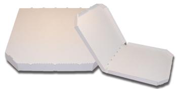 Obrázek Pizza krabice, 45 cm, bílo bílá bez potisku